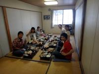 ラボ旅行焼尻島20130812